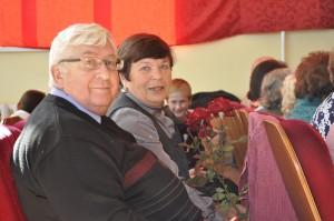 Бывшие учителя всегда в качестве почётных гостей Мишурин А.А., Маслова М.Н.